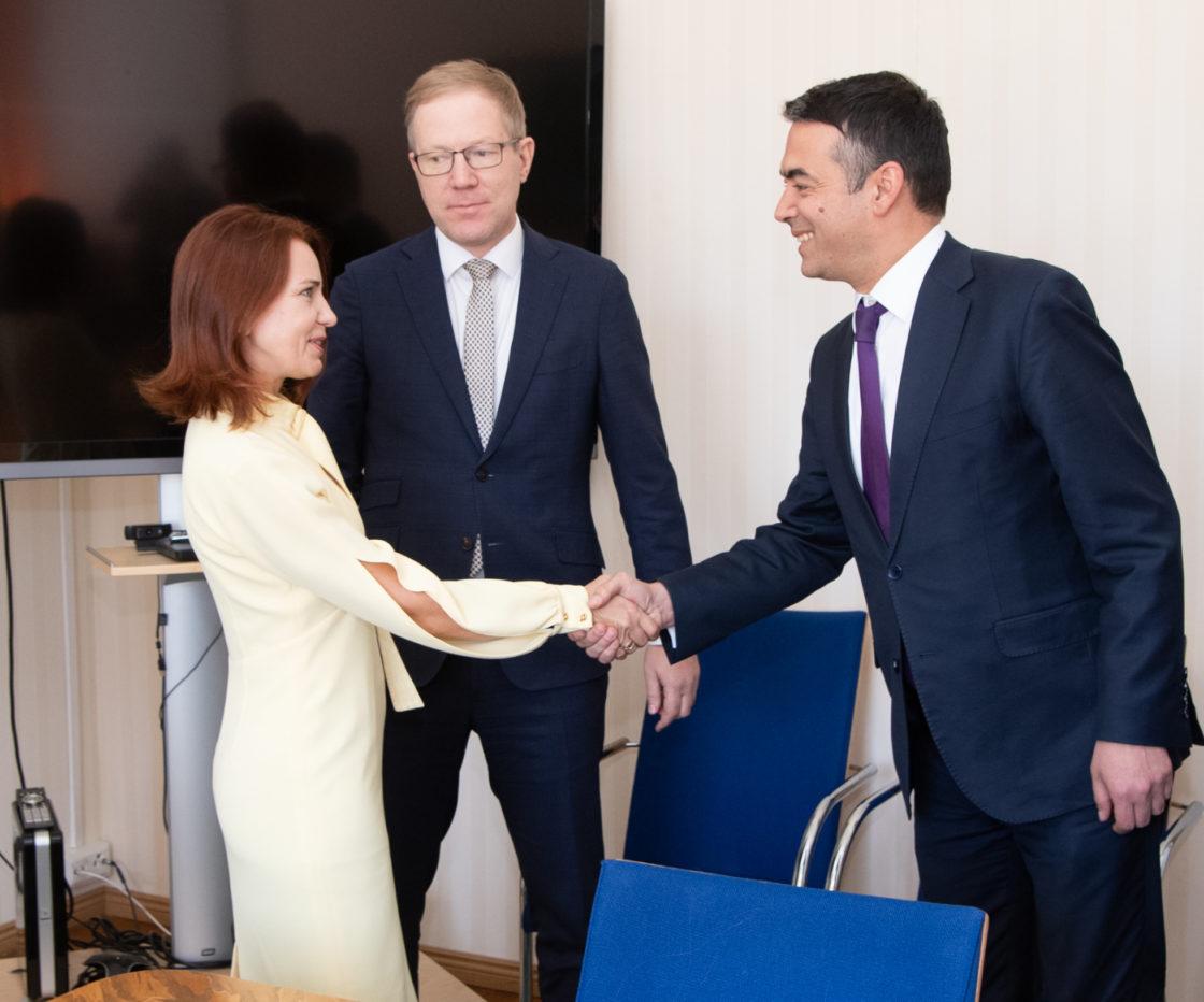 Väliskomisjoni liikmed kohtusid Põhja-Makedoonia Vabariigi välisministri Nikola Dimitroviga