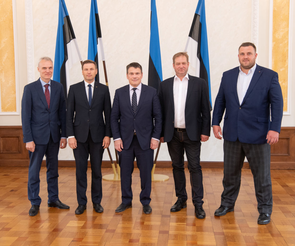 Julgeolekuasutuste järelevalve erikomisjoni koosseis, 27. mai 2019