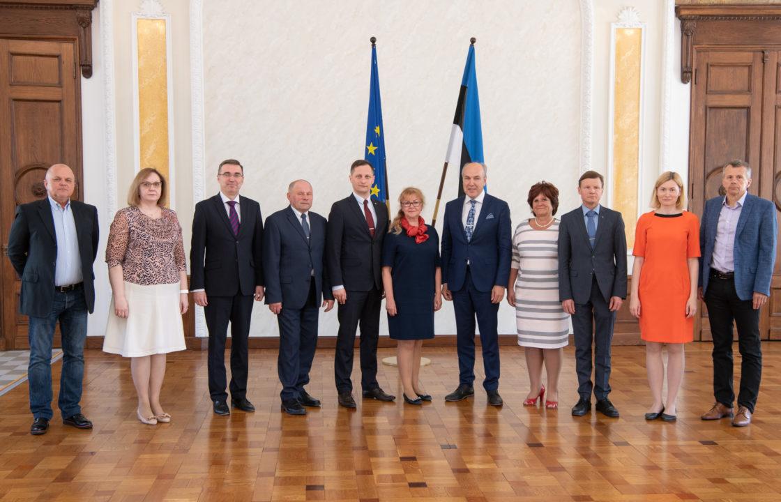 Rahanduskomisjoni koosseis, 3. juuni 2019