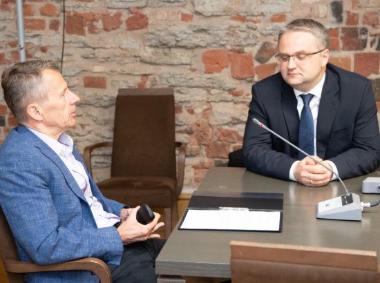 Riigieelarve kontrolli erikomisjon arutas Riigikontrolli ülevaadet Eesti idapiiri väljaehitamise ettevalmistamisest ja sellega seotud murekohti