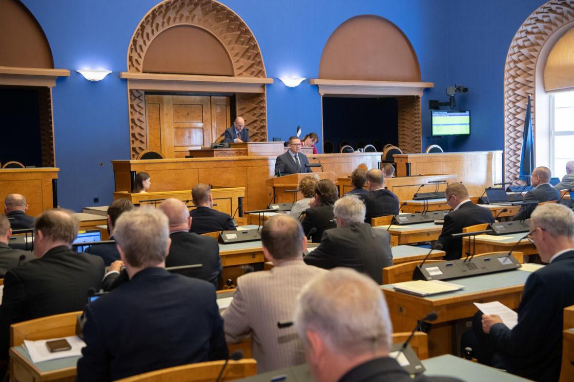 Riigikohtu esimehe Villu Kõve ülevaade kohtukorralduse, õigusemõistmise ja seaduste ühetaolise kohaldamise kohta