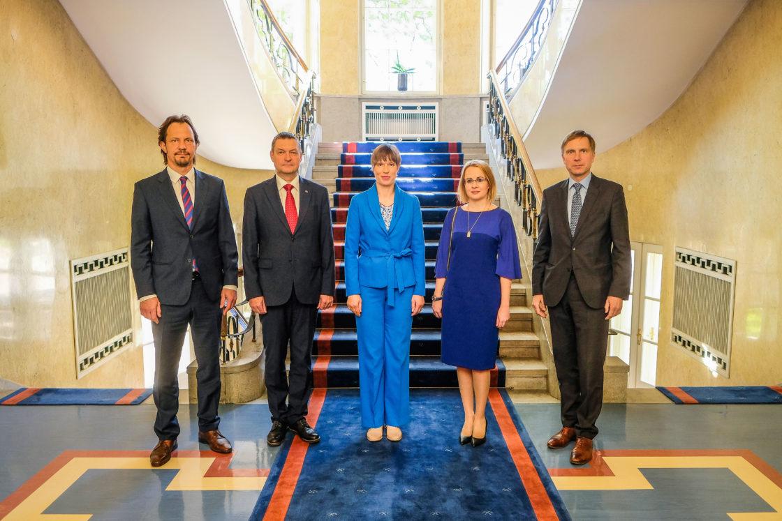 ENPA Eesti delegatsioon kohtus Eesti Vabariigi presidendi Kersti Kaljulaidiga