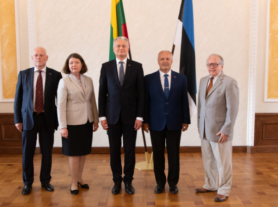 Riigikogu esimees Henn Põlluaas kohtus Leedu Vabariigi presidendi Gitanas Nausėdaga