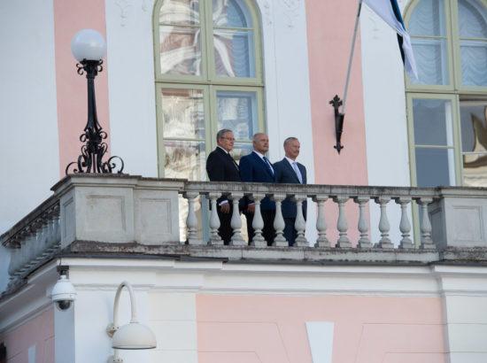 Ott Leplandi ja Rein Rannapi kontsert Toompea lossi rõdul