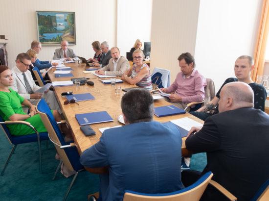 Väliskomisjoni istung, 27. august 2019