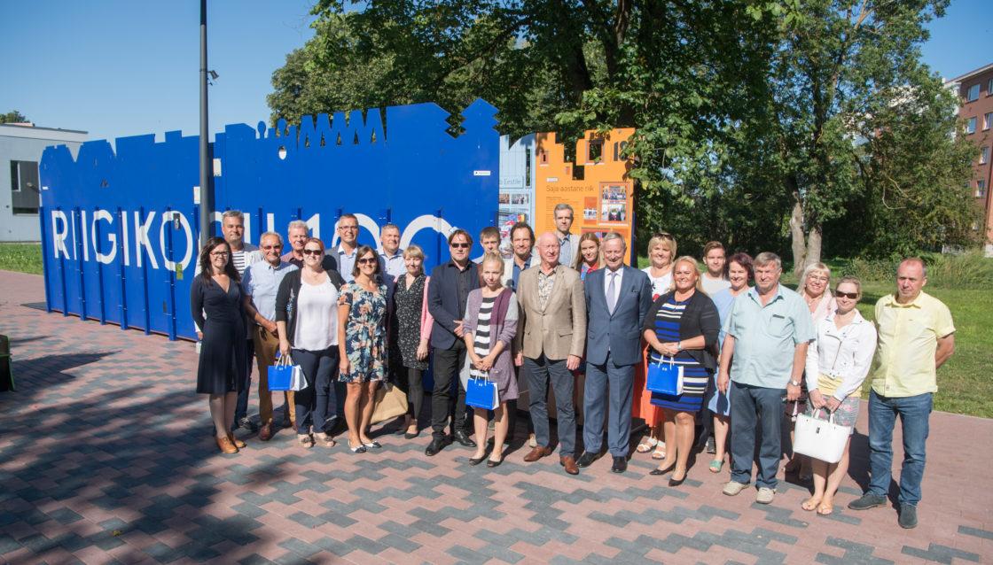"""Näituse """"Riigikogu 100"""" avamine Rakveres"""