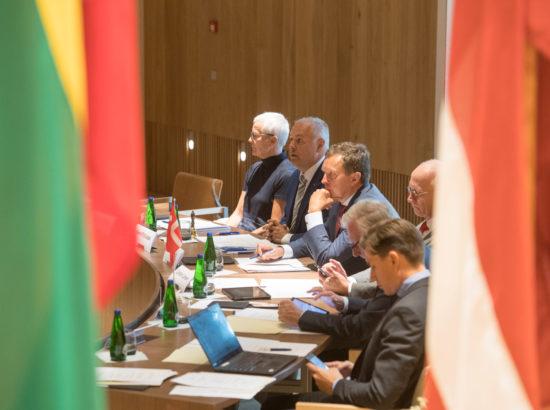 Riigikogu esimehe kohtumine Põhja- ja Baltimaade (NB8) parlamentide esimeestega