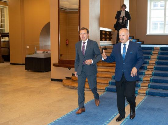 Riigikogu sügisistungjärgu avaistung, 9. september 2019