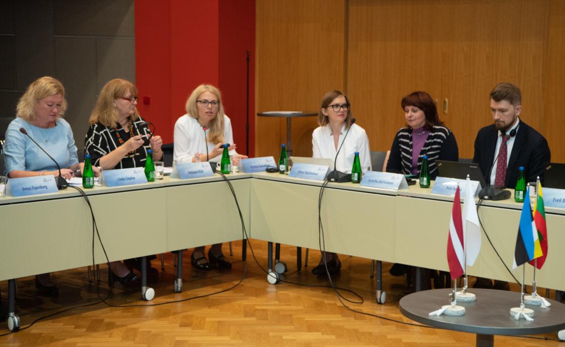 Balti Assamblee (BA) Eesti delegatsiooni heaolukomisjoni liikmed osalesid Balti Assamblee heaolukomisjoni istungil