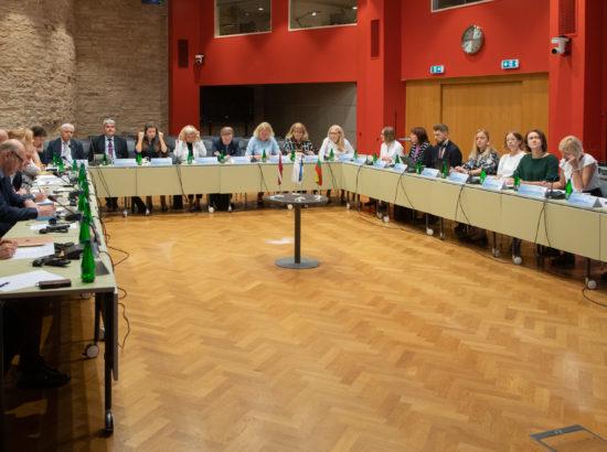 XIV Riigikogu delegatsioonid