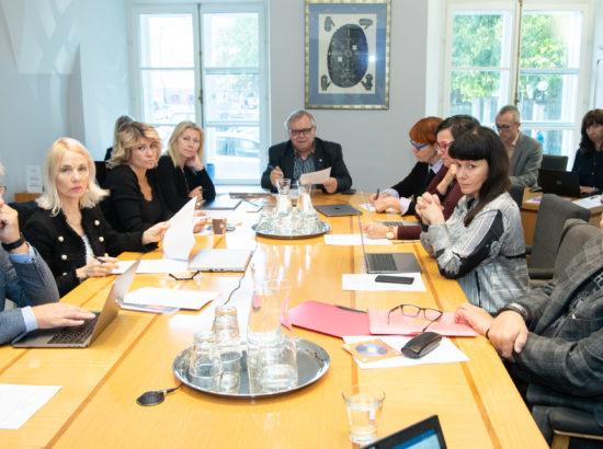 Kultuurikomisjoni istung, 16. september 2019