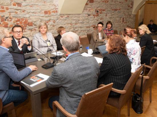 Rahvastikukriisi lahendamise probleemkomisjoni istung, 16. september 2019