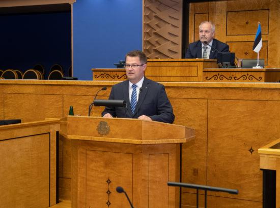 Täiskogu istung, Marko Šorini ametivanne