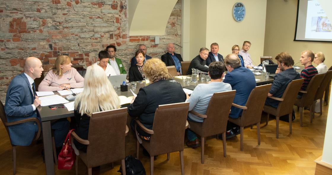 Sotsiaalkomisjoni istung