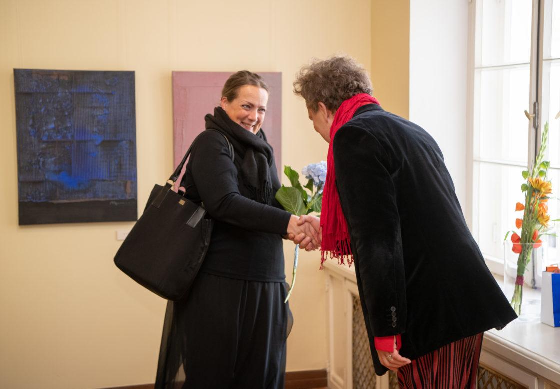 """Kunstnik Margus Tõnnovi maalinäituse """"Maitsed"""" avamine"""