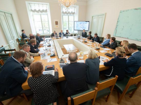 Maaelukomisjoni ja rahanduskomisjoni ühisistung viieeuroste rahatähtede kättesaadavusest sularahaautomaatides