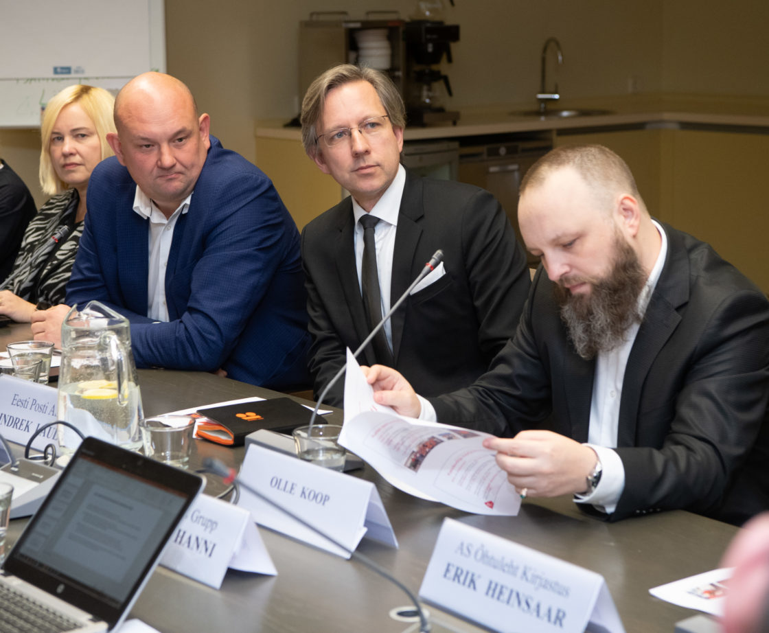 Rahanduskomisjoni korraldatud ümarlaud tulenevalt Eesti Meediaettevõtete Liidu avalikust pöördumisest kojukande osas