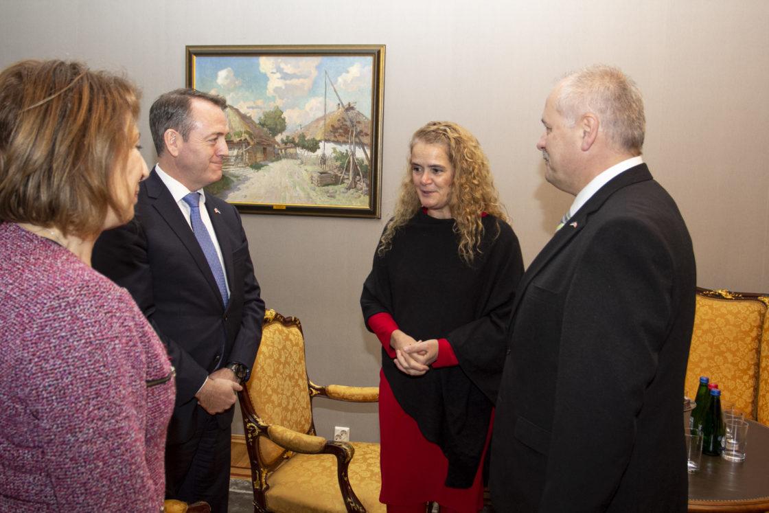 Kanada kindralkuberner Julie Payette külastas Riigikogu.