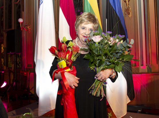 Balti Assamblee kirjanduspreemia saaja Leelo Tungal