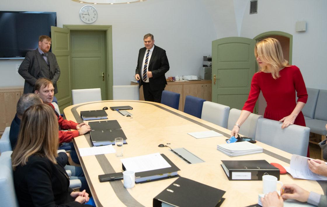 Õiguskomisjoni istung, riigi peaprokuröri kandidaadist
