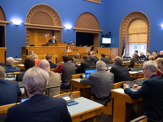 Riigikogu sügisistungjärgu viimane istung