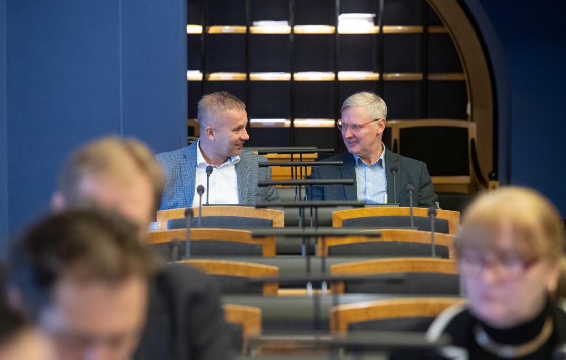 Arno Kütt ja Martin Ehala