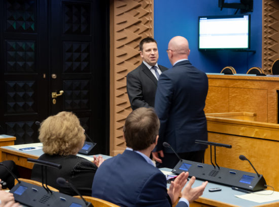 Maaeluminister Arvo Alleri ametivanne