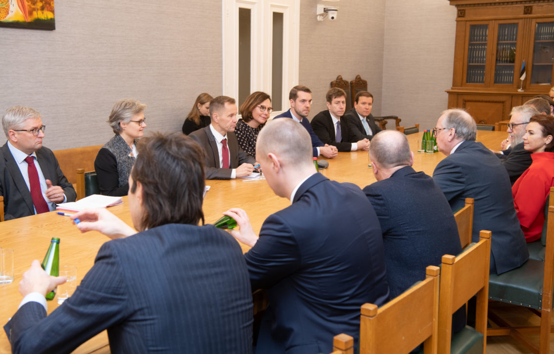 Väliskomisjoni ja Etuskunta väliskomisjoni kohtumine