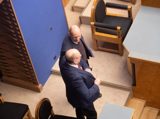Riigikogu aseesimees Helir-Valdor Seeder ja siseminister Mart Helme