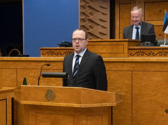 Riigikohtu liige Juhan Sarv ja Riigikogu Kantslei direktor Peep Jahilo