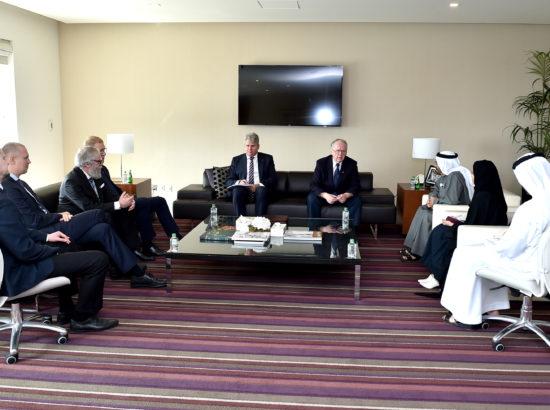 Kohtumine Araabia Ühendemiraatide poliitikaküsimuste aseministri Khalifa Shaheen Al Marariga