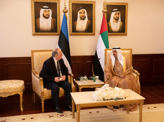 Kohtumine Araabia Ühendemiraatide Föderaalse Rahvusnõukogu esindajatega