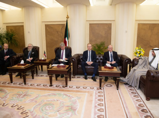 Kohtumine Kuveidi Rahvuskogu esimehe Marzouq Ali Al Ghanimiga