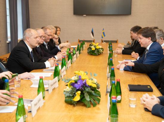 Kohtumine Rootsi parlamendi Riksdagi esimehe Andreas Norléniga