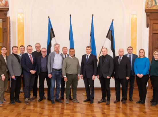 Riigikaitsekomisjoni kohtumine Taani parlamendi kaitsekomisjoni delegatsiooniga