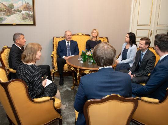 Kohtumine Tšehhi peaministri Andrej Babišiga