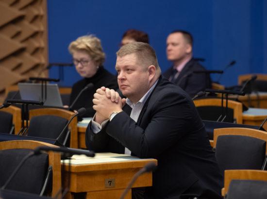 Keskkonnakomisjoni esimees Erki Savisaar