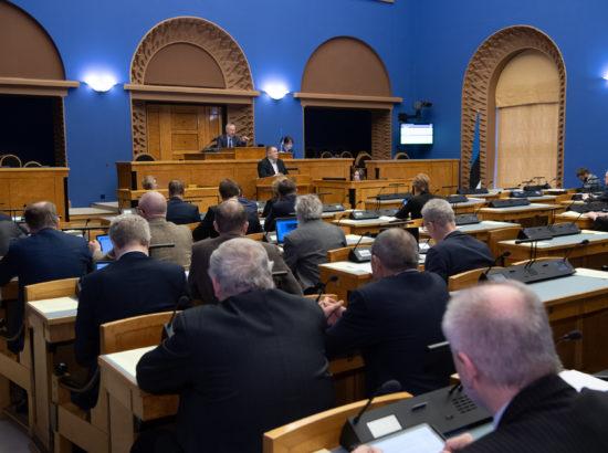 Keskkonnakomisjoni esimeehe Erki Savisaare ettekanne