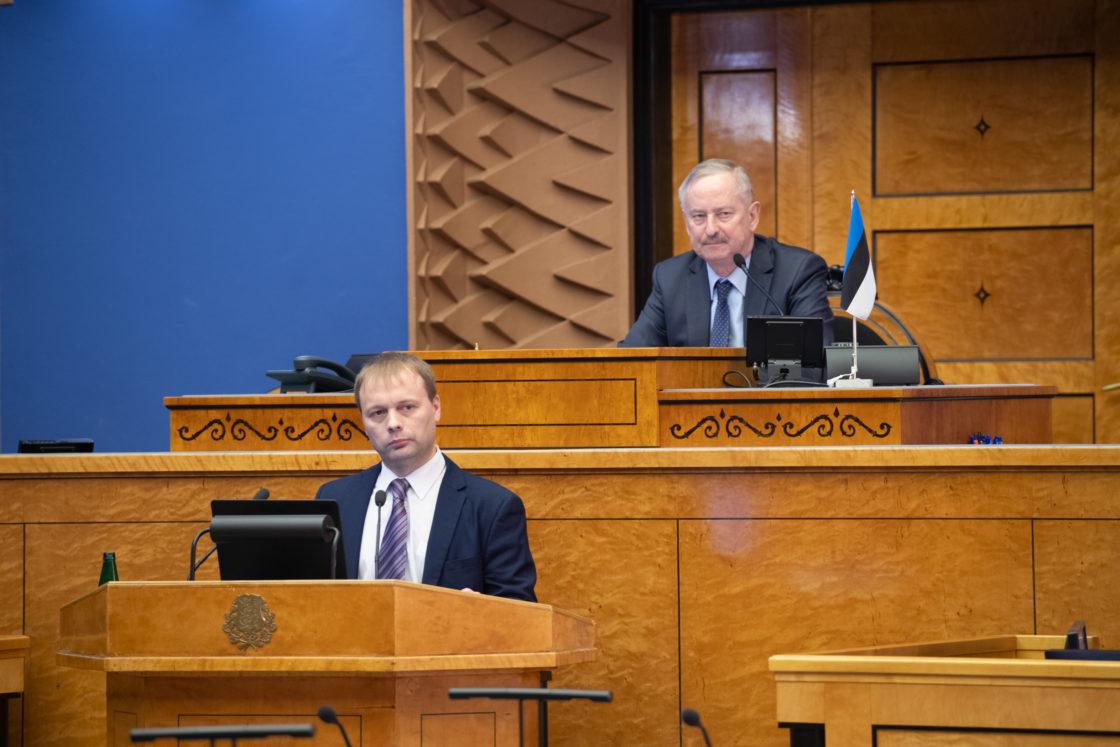 Maaülikooli metsapatoloogia dotsendi Rein Drenkhani ettekanne