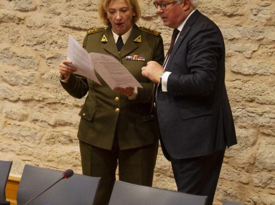 Balti Assamblee julgeoleku- ja kaitsekomisjoni istung.