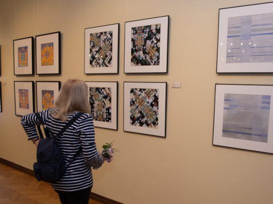 """Studio 22 näituse """"Taevasmaa, võred ja välgud"""" avamine"""