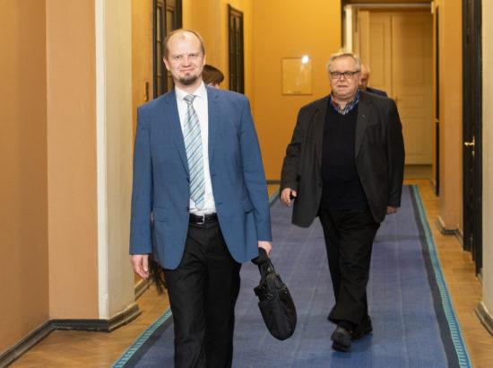 Riigikogu liikmed Anti Poolamets ja Aadu Must