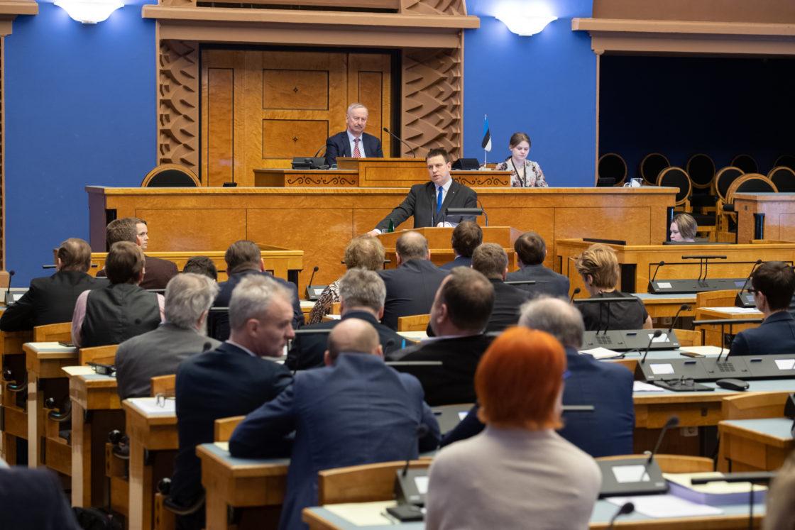 Peaministri poliitiline avaldus seoses kujunenud olukorraga Eestis