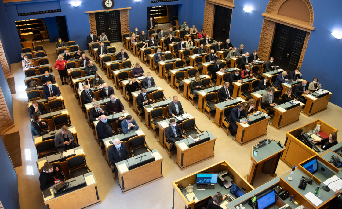 Täiskogu istung, 2020. aasta lisaeelarve seaduse eelnõu teine lugemine