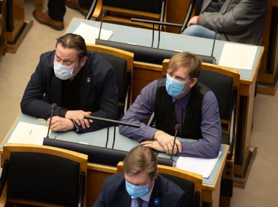 Täiskogu istung, 2020. aasta lisaeelarve seaduse eelnõu kolmas lugemine