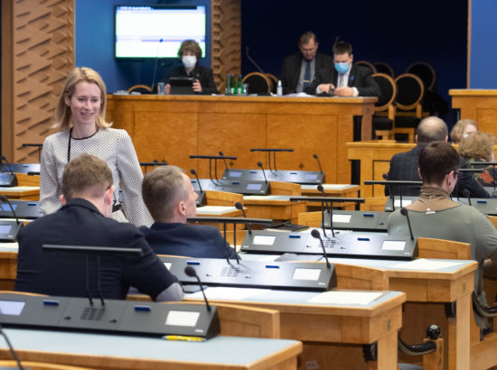 Riigikogu infotund, 22. aprill 2020