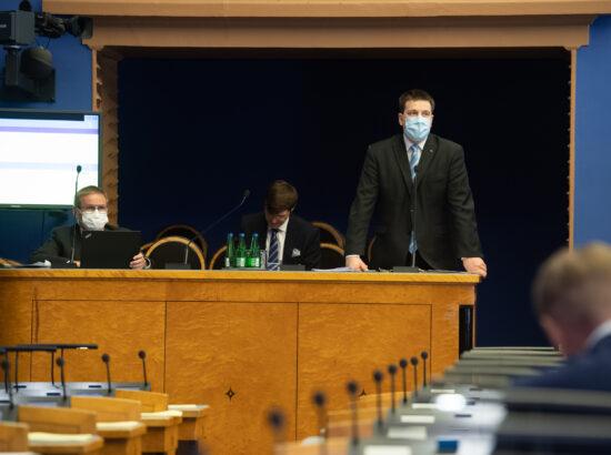 Riigikogu infotund, 6. mai 2020