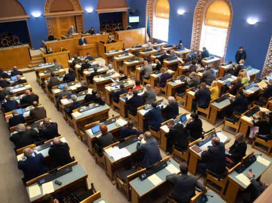Täiskogu istung, 12. mai 2020