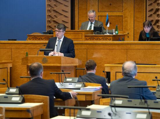 ERRi nõukogu liikmete nimetamine. Kultuurikomisjoni esimehe Aadu Musta ettekanne.