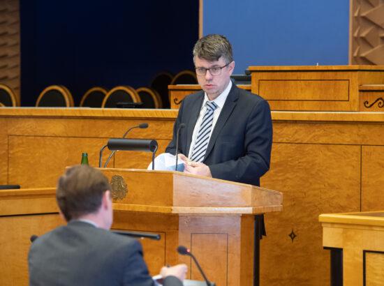 """Välispoliitika arengukava 2030"" arutelu, välisminister Urmas Reinsalu ettekanne"